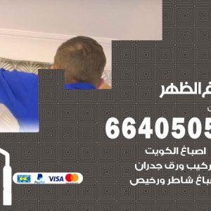 صباغ الظهر / 66405052 / صباغ منازل تركيب ورق جدران باركيه