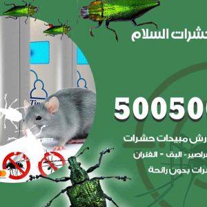 مكافحة حشرات السلام / 50050647 / شركة مكافحة الحشرات والقوارض