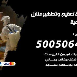 شركة تعقيم وتطهير منازل الشامية / 50050641 / تعقيم منازل من فيروس كورونا