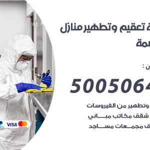 شركة تعقيم وتطهير منازل العاصمة / 50050641 / تعقيم منازل من فيروس كورونا