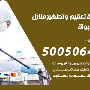 شركة تعقيم وتطهير منازل المهبولة / 50050641 / تعقيم منازل من فيروس كورونا