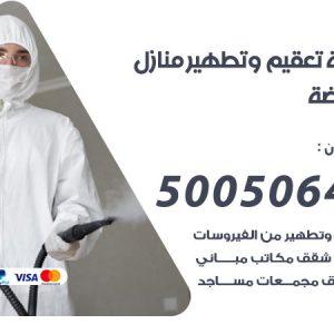 شركة تعقيم وتطهير منازل النهضة / 50050641 / تعقيم منازل من فيروس كورونا