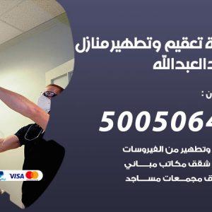 شركة تعقيم وتطهير منازل سعد العبدالله