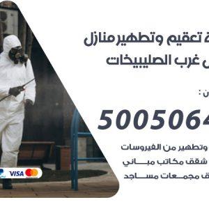 شركة تعقيم وتطهير منازل شمال غرب الصليبيخات / 50050641 / تعقيم منازل من فيروس كورونا