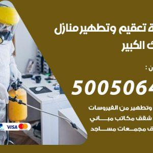 شركة تعقيم وتطهير منازل مبارك الكبير / 50050641 / تعقيم منازل من فيروس كورونا