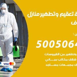 شركة تعقيم وتطهير منازل مشرف / 50050641 / تعقيم منازل من فيروس كورونا